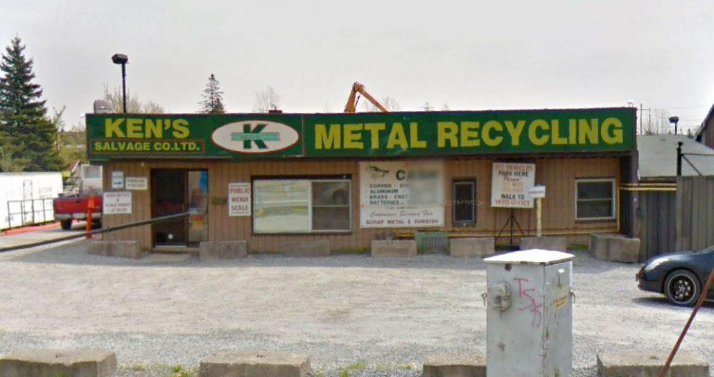 Ken's Salvage Scrap Metal and Garbage Bin Rentals